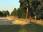 Prepreke na kraju parkirališne trake Jarunske ceste [GP 2015.]