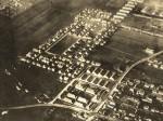 Avionska snimka tzv. provizornih stanova (u prednjem planu) na Selskoj cesti (1927.-1928.) [VR 2015.]