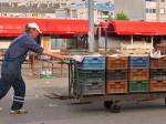 Trešnjevačka tržnica poslije kraja radnog vremena [VR 2015.]