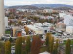 """Pogled s najvišeg kata hotela """"Panorama"""" prema sjeverozapadu [VR 2015.]"""