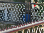 Dvorišna ograda u Ulici Prečko [VR 2015.]