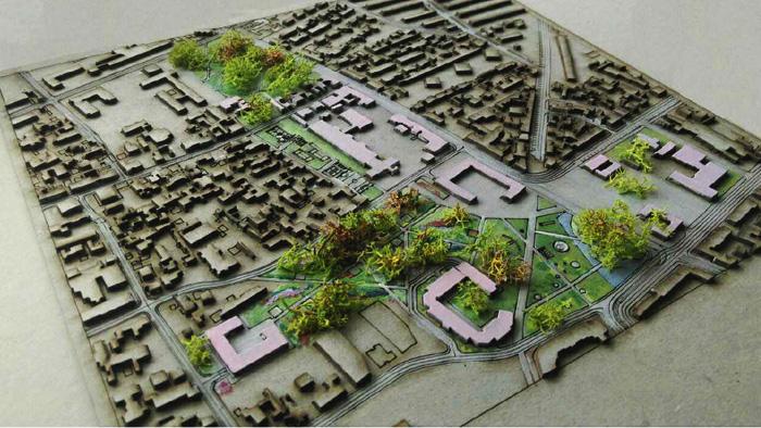 Mateja Nosil: Preobrazba središta Trešnjevke – studentski rad