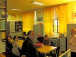 Sudionici posjeta u knjižnici Elektrostrojarske obrtničke škole na Selskoj cesti [GP 2016.]