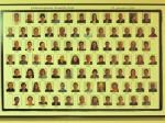Kolaž fotografija zaposlenika Elektrostrojarske obrtničke škole na Selskoj izložen u zbornici Škole [GP 2016.]