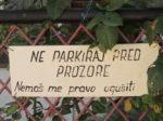 Molba stanovnika Crikveničke ulice uz upotrebu žardinjera za zaprečivanje parkiranja [GP 2016.]