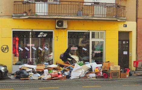 Trešnjevka između čistoće i smeća
