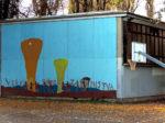 Grafit na zidu dvorane Osnovne škole Ivana Meštrovića [GP 2016.]