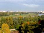 Pogled na korito Save i područje oko Jarunskog jezera iz prekosavskog Blata [VR 2015.]