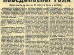 Izrezak iz sportskog tiska u arhivi obitelji Hercigonja [IR]