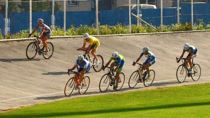 Trening biciklista na ciklodromu u Kranjčevićevoj ulici [GP 2010.]
