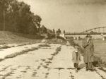 Okolica Savskog kupališta (i mostovi na Savi) oko 1960. g. [JD 2018.]