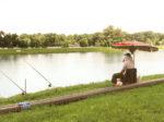 Ribič na obali Jarunskog jezera [VT 2014.]