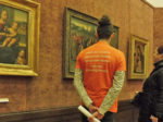 """Aktivna prezentacija volontera tokom """"Noći muzeja 2019."""" u galeriji HAZU [GP 2019.]"""