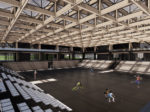Projekt Hokejskog centra Zagreb – studentski rad Antonija Gamilca - interijer