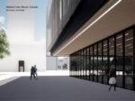 Projekt Hokejskog centra Zagreb – studentski rad Antonija Gamilca - perspektiva