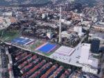 Projekt Hokejskog centra Zagreb – studentski rad Antonija Gamilca - ptičja perspektiva