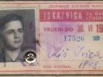 Godišnja đačka (i studentska!) iskaznica ZET-a za 1965. godinu [IK 2020.]