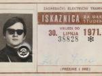 Godišnja studentska (i đačka!) iskaznica ZET-a za 1971. godinu [IK 2020.]