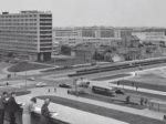 """Iz knjige """"Tramvaj u Zagrebu"""" - Križanje Miramarske i Ulice grada Vukovara ~ 1960. [Trnje]"""