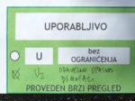 """Nalaz """"brzog pregleda"""" (s """"komentarom"""") nakon potresa (22.3.2020.) za zgradu u Krapinskoj ulici [VR 2020.]"""