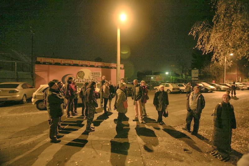 Sudionici dijagonalne šetnje 22.12.2013. na Klanječkoj ulici [BT 2013.]