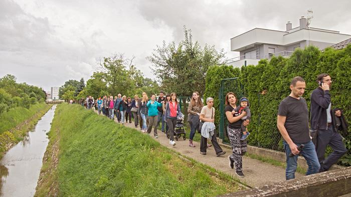 Sudionici šetnje uz potok Vrapčak [NB 2020.]
