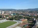 Pogled sa Ciboninog tornja 2012. - pogled prema sjeverozapadu, prema Zapadnom kolodvoru i Črnomercu [DZ 2012.]