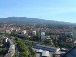 Pogled sa Ciboninog tornja 2012. - pogled prema sjeveru, smjer Tuškanac [DZ 2012.]