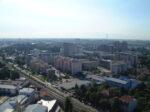 Pogled sa Ciboninog tornja 2012. - pogled prema jugoistoku - Martinovka, FER, Trnje ... [DZ 2012.]
