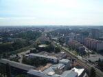Pogled sa Ciboninog tornja 2012. - pogled prema istoku - Glavni kolodvor [DZ 2012.]