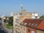 Pogled sa balkona zgrade u Tratinskoj 73 [VR 2020.]