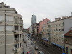 Pogled iz stana zgrade u Tratinskoj 44 [VR 2020.]