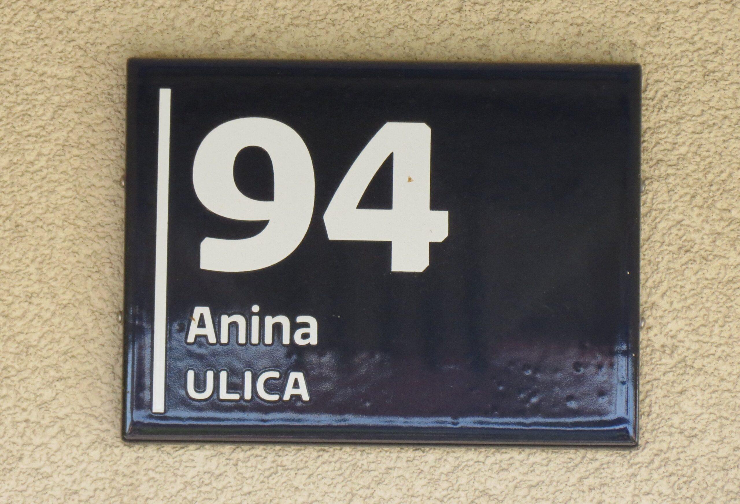 Najnoviji dizajn kućnih brojeva, propisan od 2014. godine [VR 2020.]