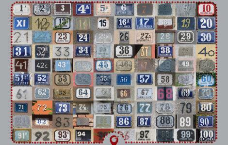 Virtualni trešnjevački muzej: Stari kućni brojevi