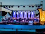 Otvorenje 3. međunarodnog susreta puhačkih orkestara u Zagrebu, pozornica na jezeru Bundek, 12.07.2020. [LG 2020.]