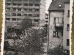 Pogled prema Nehajskoj ulici za vrijeme poplave 1964., snimljeno sa prozora Kraljevičke 12 [MB 1964.]