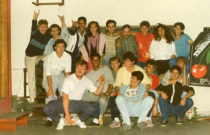 Slikano 1987. u disco klubu Trešnja (terasa SC-a)