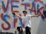 Mane Mei, street art umjetnik koji je oslikao zid u Tratinskoj 45 [LM 2021.]