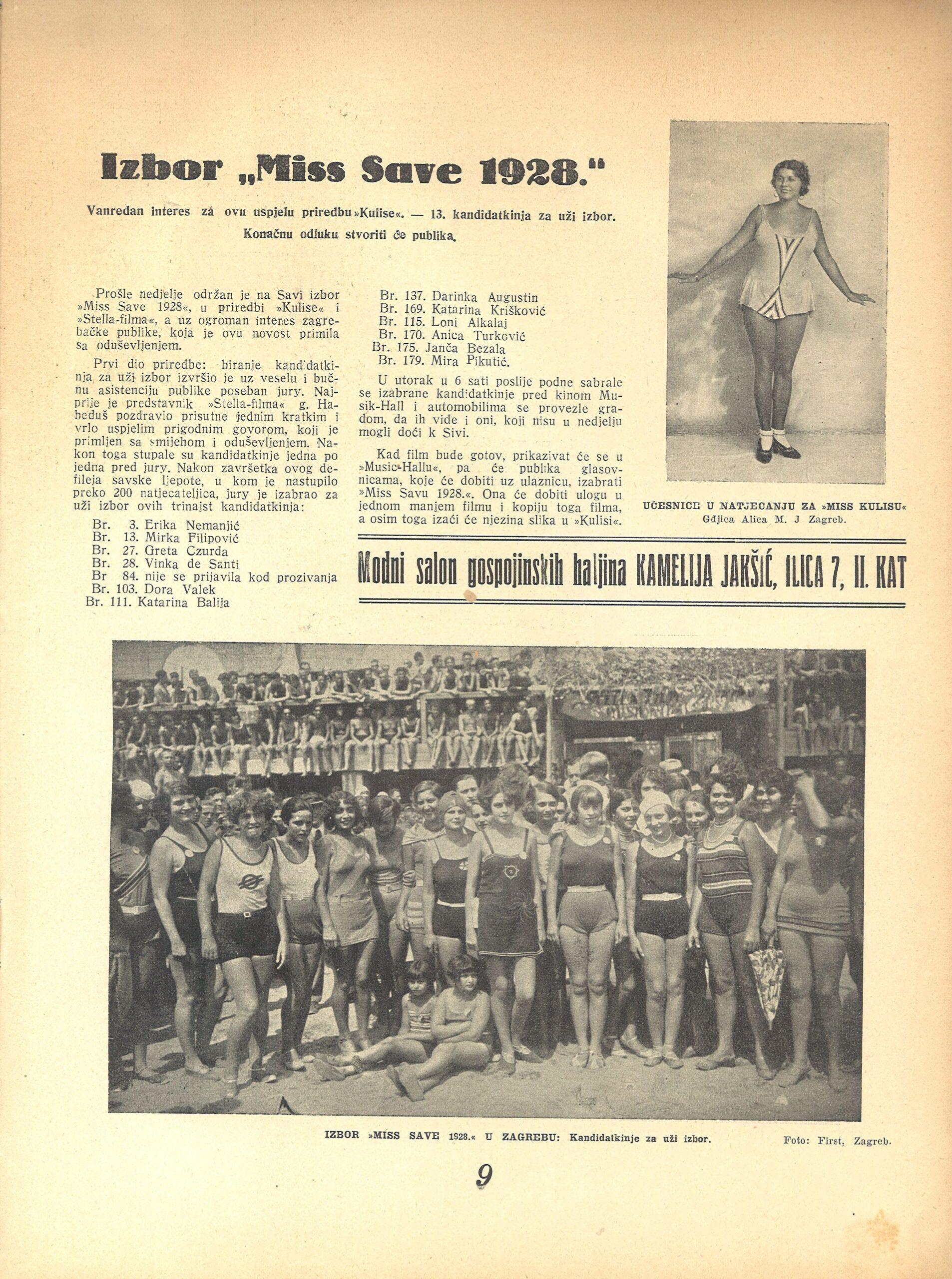 Iz arhive Vanje Radovanovića (10.08.1928.)